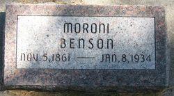 Moroni Benson
