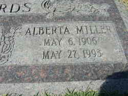 Alberta <i>Miller</i> Edwards