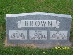 Jennie Sophie <i>Schon</i> Brown