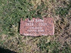 Kay Marie <i>Drake</i> Babb