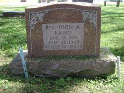 Rev John Alvin Baird