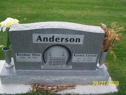 Karma <i>Larsen</i> Anderson