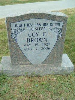 Coy Finis Brown