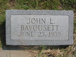 John L Bavousett