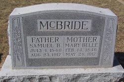 Mary Belle <i>Wilson</i> McBride