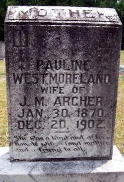 Pauline <i>Westmoreland</i> Archer