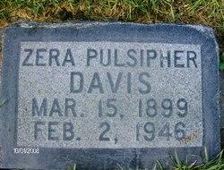 Zera <i>Pulsipher</i> Davis