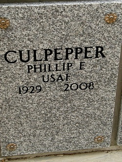 Phillip Edward Culpepper