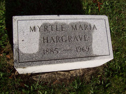 Myrtle Maria Hargrave