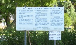 Walnut Grove Baptist Church Cemetery