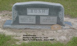 Hattie May <i>Stevenson</i> Bush