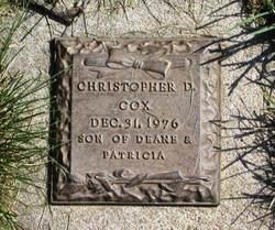 Christopher D Cox