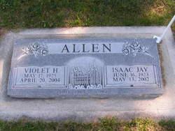 Violet <i>Henderson</i> Allen