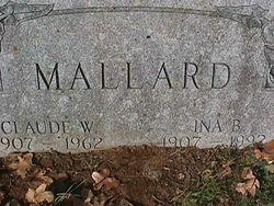 Claude William Mallard