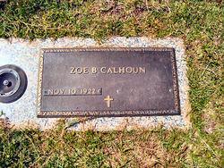 Zoe B. Calhoun