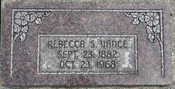 Rebecca <i>Snider</i> Vance