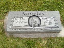 Brent <i>Folsom</i> Cowley