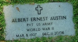 Pvt Albert Ernest Shorty Austin