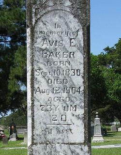 Avis Emmory <i>Brown</i> Baker
