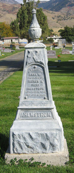 Anna Maria Ahlmstrom