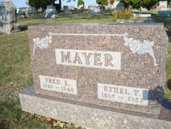 Clara Ethel <i>Taylor</i> Mayer