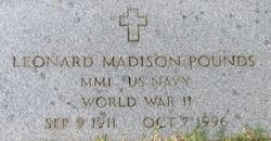 Leonard Madison Pounds
