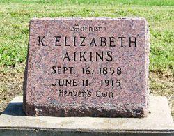 Keziah Elizabeth Libby <i>Harter</i> Aikins