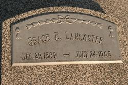 Grace E <i>Shoup</i> Lancaster