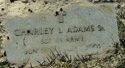 Charley Leroy Adams, Sr