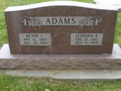 Betha Lorena <i>Larsen</i> Adams