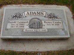 Harold Leonard Adams