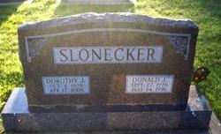 Dorothy J. <i>Bergman</i> Slonecker