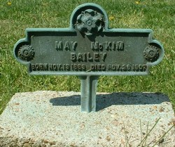 Bertha May <i>McKim</i> Bailey