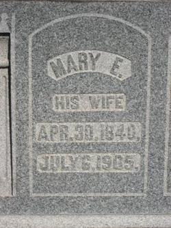 Mary Elizabeth <i>Brown</i> Brown