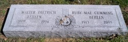 Ruby Mae <i>Cumming</i> Behlen