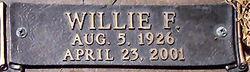 Willie F. Sports