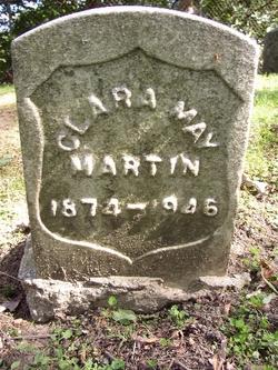 Clara May <i>Hartley</i> Martin