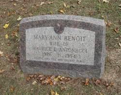 Mary-Ann <i>Benoit</i> Antonucci