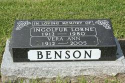 Vera Ann <i>More</i> Benson