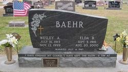 Elda <i>Rawson</i> Baehr
