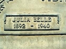 Julia Belle Adams
