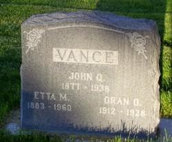 John Quincy Vance