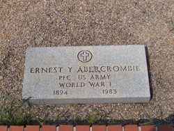 Ernest Y Abercrombie