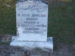 Martha Rena <i>Johnston</i> Bruton