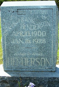James Franklin Frank Henderson