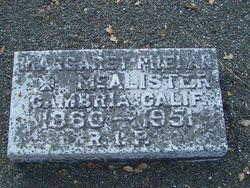 Margaret <i>Phelan</i> McAlister