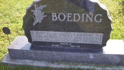 Marlys J <i>Stansell</i> Boeding