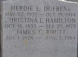 Christina Louisa <i>Pradat</i> Hamilton Lagman