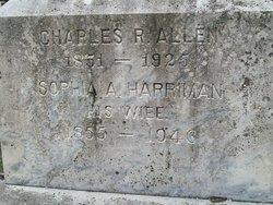 Sophia Amelia <i>Harriman</i> Allen