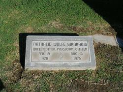 Dr Nathalie M. <i>Wolfe</i> Birnbaum